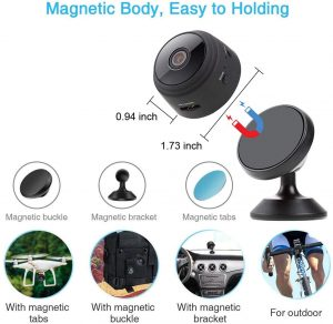 Mini Hidden Camera Spy Cam WiFi
