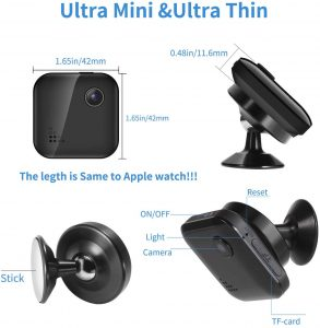 Mini-Spy-Camera WiFi Wireless