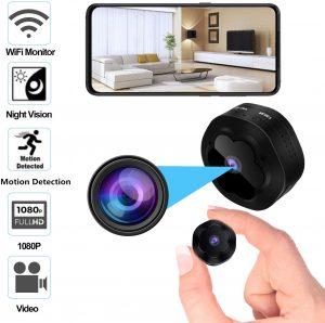 Mini Spy Hidden Camera WiFi